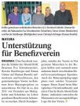 Abendschul-Maturaprojekt: Unterstützung für Benefizverein