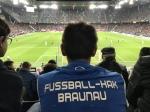 Besuch beim Europa League Spiel Red Bull Salzburg gegen Celtic Clasgow